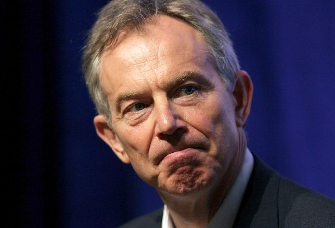 Many on the political 'left' want Tony Blair arrested